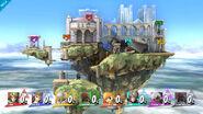 Wii U Temple stage