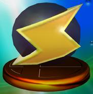 Screw Attack Trophy (Melee)