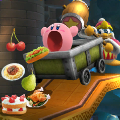 Event: Kirby's Crazy Appetite