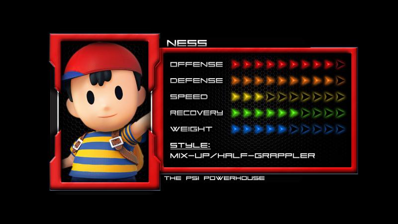 Ness (Super Smash Bros. for Nintendo 3DS and Wii U)