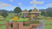 SSBU-Minecraft World
