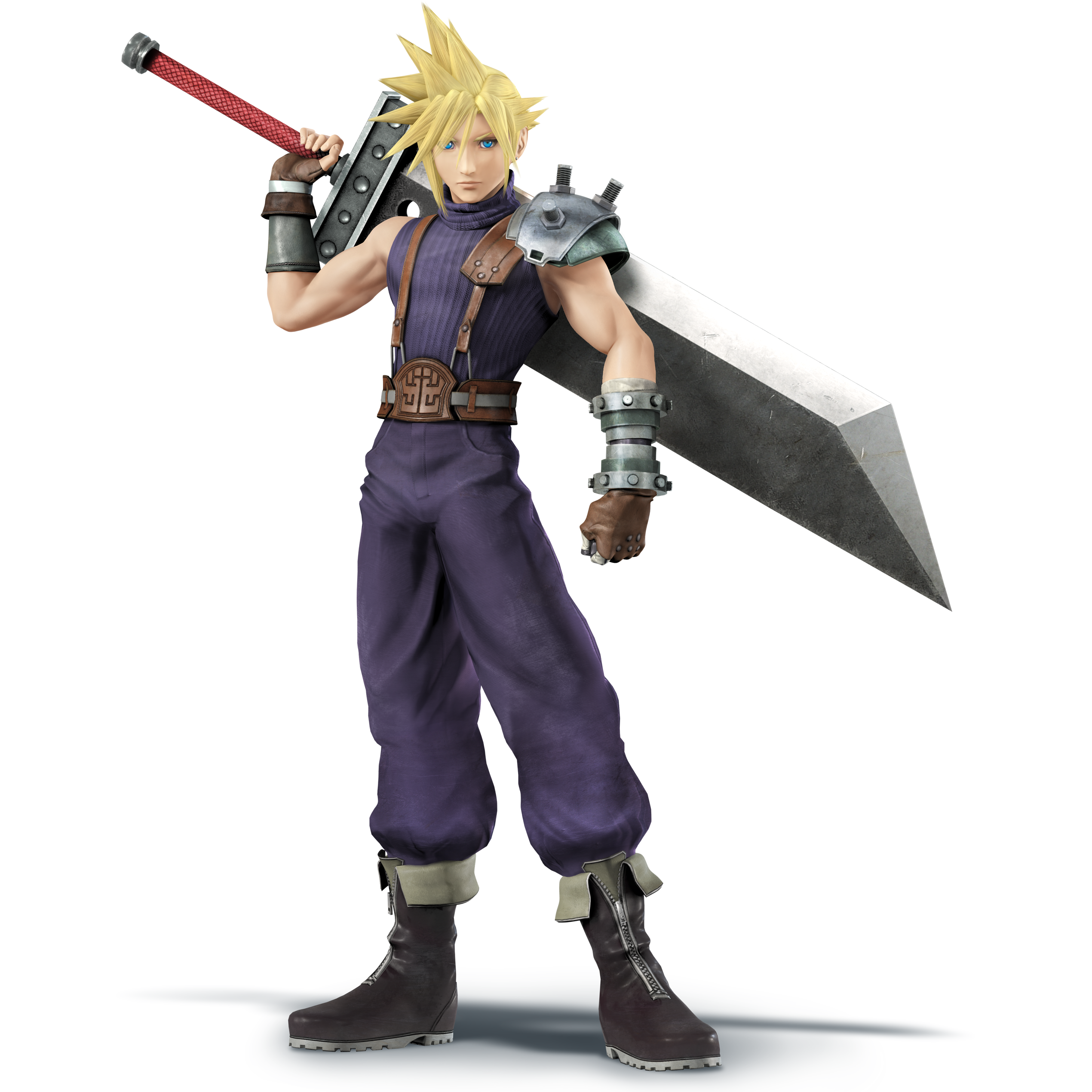 Cloud - Super Smash Bros. for Nintendo 3DS and Wii U.png