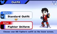 MII Fighter outfit