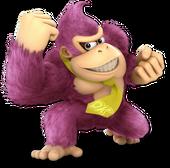 Donkey Kong SSBU Palette 8