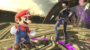 Mario and Bayonetta