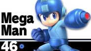 46 Mega Man – Super Smash Bros
