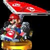 Mario + Standard Kart Trophy 3DS.png