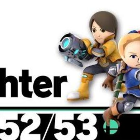 51-53 Mii Fighter – Super Smash Bros. Ultimate