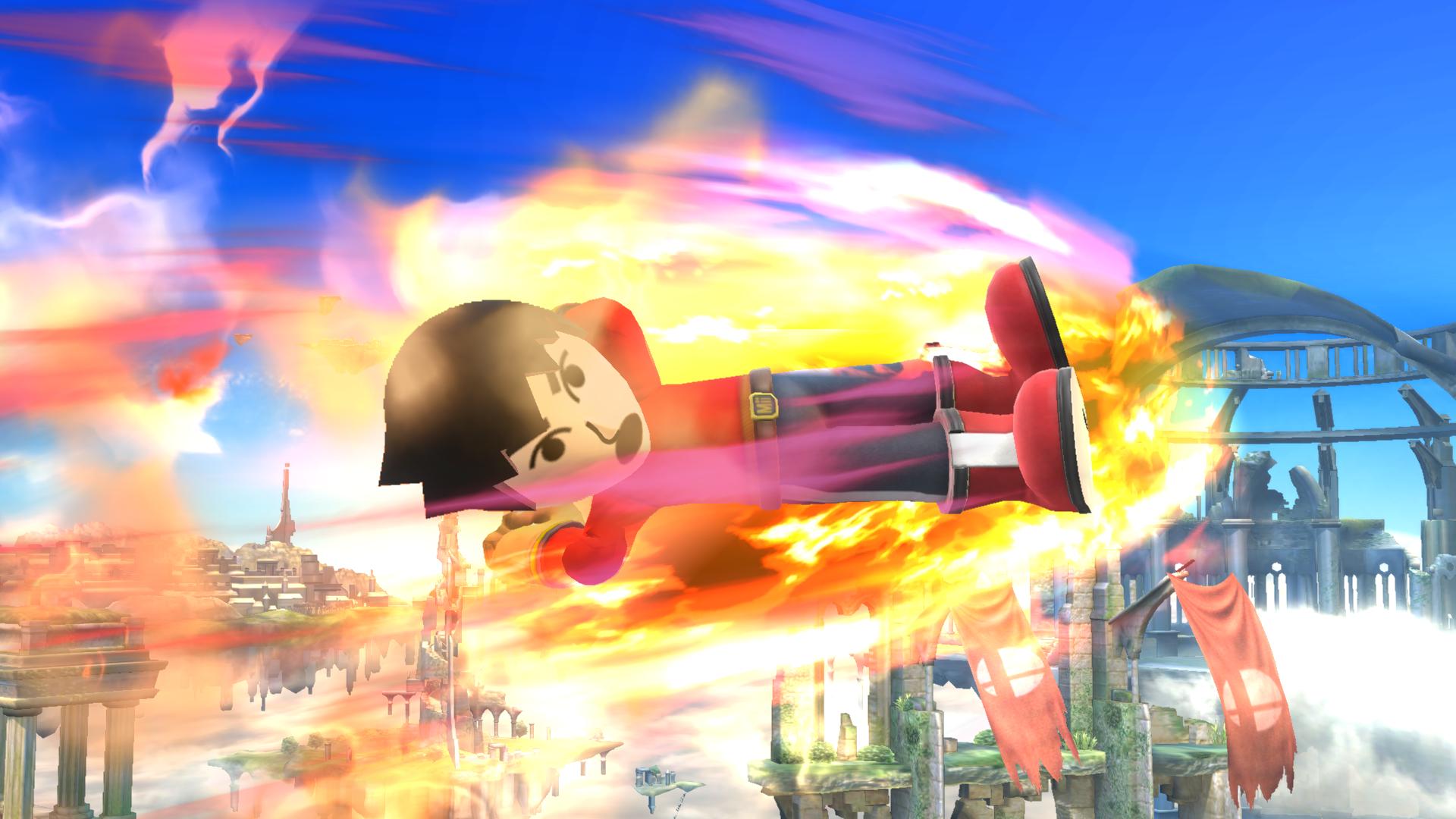 Burning Dropkick