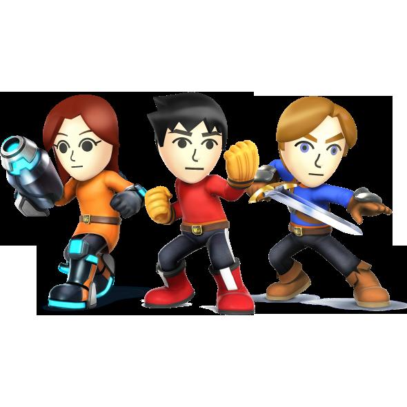Mii Fighters (SSBWU/3DS)