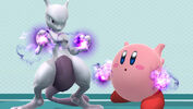 Mewtwo and Kirbytwo