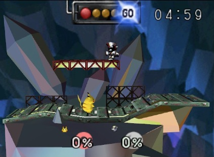 Metal Mario's Stage