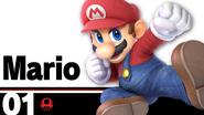 SSBU Mario Number