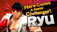 Here Comes A New Challenger! Ryu