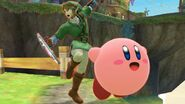 Link and Kirby