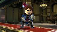 Mii Fighter in Luigi's Mansion