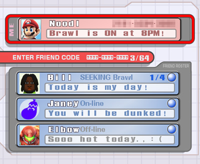 Friend Roster