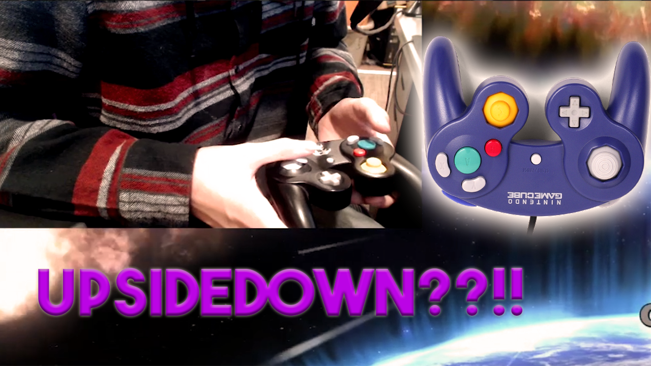 Beewito/How I Play Smash 4 Upside Down