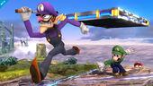 Waluigi Luigi Mario SSB4