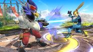 Blaster versus blaster