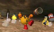 Pac-Man Gunfight