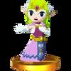 SSB3DS Zelda (Spirit Tracks) Trophy.png