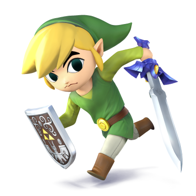 Toon Link - Super Smash Bros. for Nintendo 3DS and Wii U.png