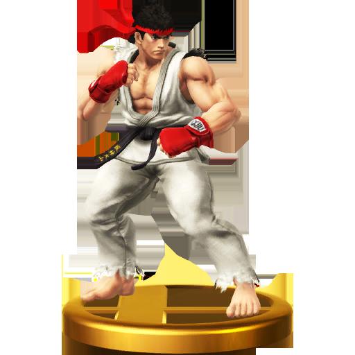 List of SSBWU trophies/Street Fighter series