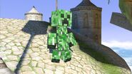 Mii costume Creeper SSBU