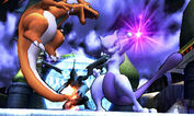 Mewtwo and Charizard