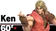 60ᵋ Ken – Super Smash Bros