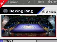 Alternate Boxing Ring
