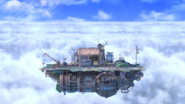SSBU Cloud Sea of Alrest Omega