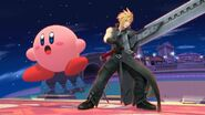 Cloud Strife and Kirby