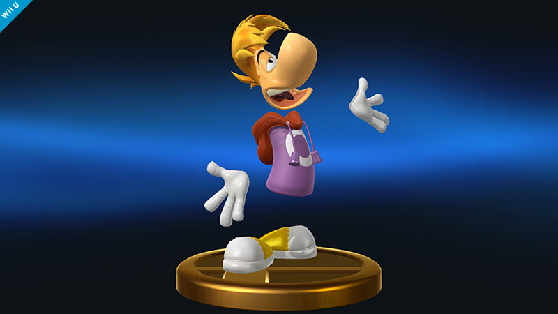 AdamGregory03/Rayman in Smash?