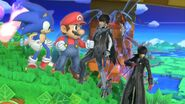 Mario sonic bayonetta and joker by user15432 ddk1i6i