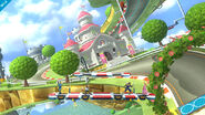 Mario Circuit (Mario Kart 8) stage