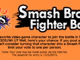 Smash Bros. Fighter Ballot