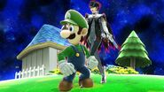 Luigi and bayonetta by user15432-dazrqx9