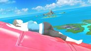 Wii Fit Trainer Pilotwings