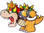 Paper Bowser (Paper Mario Sticker Star).png