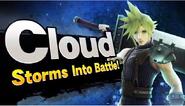 Cloud Storms Into Battle