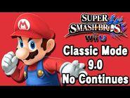 Super Smash Bros. For Wii U (Classic Mode 9