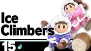 15 Ice Climbers – Super Smash Bros