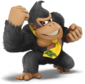 Donkey Kong SSBU Palette 2