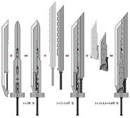 Fusion Sword Pieces