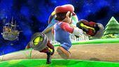 SSBU Screenshot - Mario with Pistole