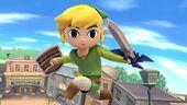 SSMB WiiU - Young Link Screenshot