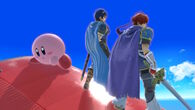 Marth Roy and Kirby