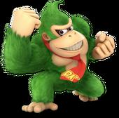 Donkey Kong SSBU Palette 5